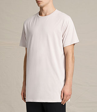 Men's Astra Crew T-Shirt (ROSE GREY) - product_image_alt_text_2