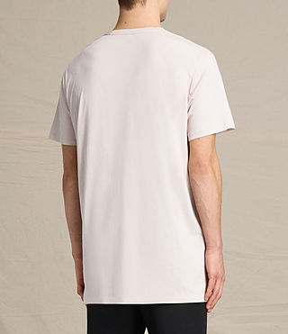 Men's Astra Crew T-Shirt (ROSE GREY) - product_image_alt_text_3