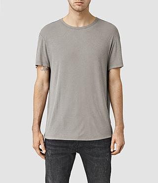 Mens Linver Crew T-Shirt (Steeple Grey)