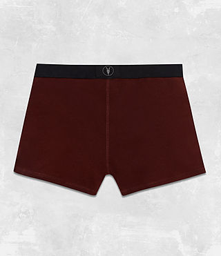 Hommes Pack de 3 Boxers Morrall (RED/CHARCOAL/BLACK) - Image 3