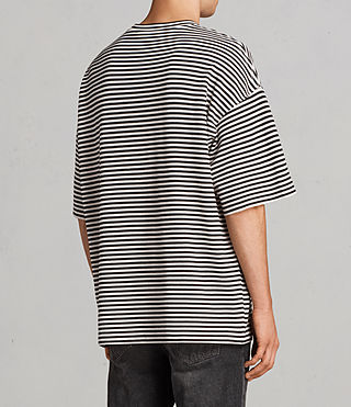 Hommes T-shirt Torny Stripe (Black/White) - product_image_alt_text_3