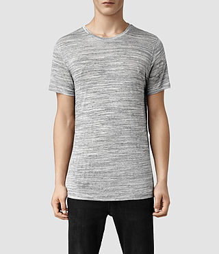 Mens Midlake Crew T-Shirt (Grey Marl)