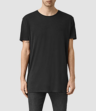 Mens Sour Crew T-Shirt (Washed Black)