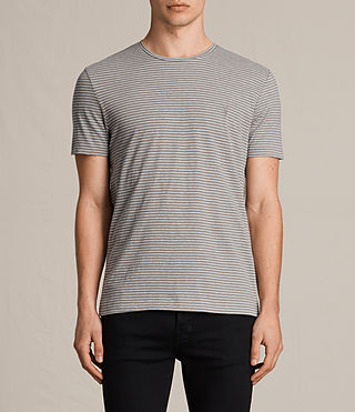 Uomo Tonic Moor Crew T-Shirt (PUTTY BROWN/GREY) -