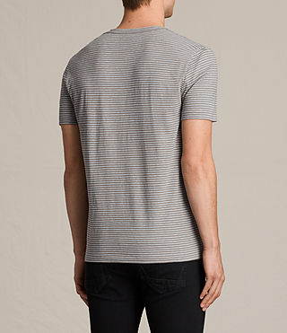 Uomo Tonic Moor Crew T-Shirt (PUTTY BROWN/GREY) - product_image_alt_text_4