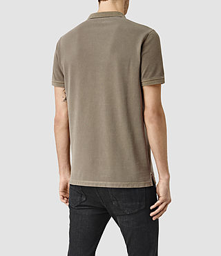 Mens Reform Polo Shirt (Washed Khaki) - product_image_alt_text_3