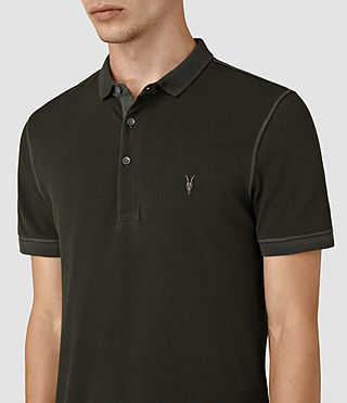 Uomo Reform Polo Shirt (Lichen) - product_image_alt_text_2