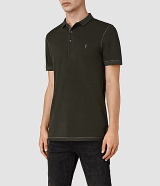 Uomo Reform Polo Shirt (Lichen) - product_image_alt_text_3