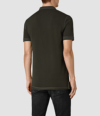 Uomo Reform Polo Shirt (Lichen) - product_image_alt_text_4