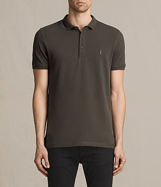 Mens Reform Polo Shirt (Military Green) - product_image_alt_text_1
