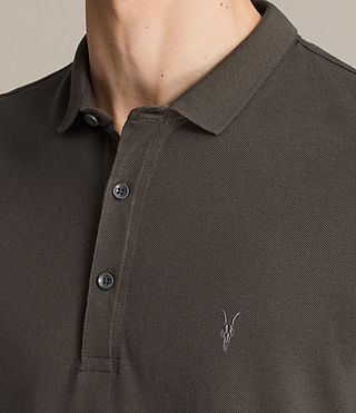 Mens Reform Polo Shirt (Military Green) - product_image_alt_text_2