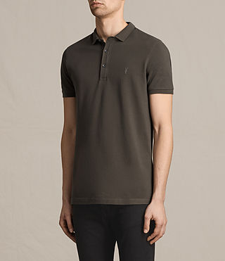 Mens Reform Polo Shirt (Military Green) - product_image_alt_text_3
