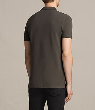 Uomo Reform Polo Shirt (Military Green) - product_image_alt_text_4