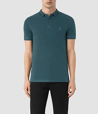 Hombres Reform Polo Shirt (Midnight Blue)