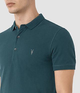 Men's Reform Polo Shirt (Midnight Blue) - product_image_alt_text_2