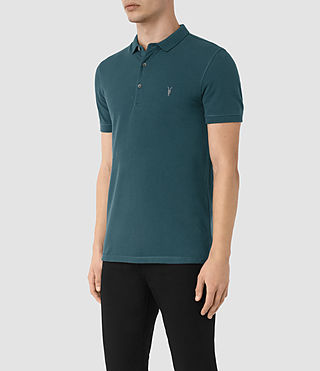 Men's Reform Polo Shirt (Midnight Blue) - product_image_alt_text_3