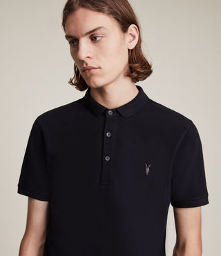 Mens Reform Polo Shirt (INK NAVY) - product_image_alt_text_2