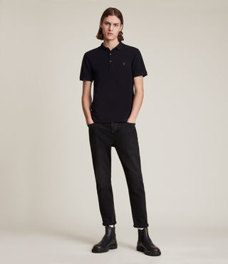 Hommes Reform Polo (INK NAVY) - product_image_alt_text_3
