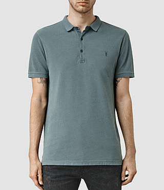 Mens Reform Polo Shirt (WASHED OCEAN BLUE)