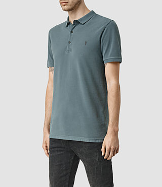 Hombre Reform Polo Shirt (WASHED OCEAN BLUE) - product_image_alt_text_2