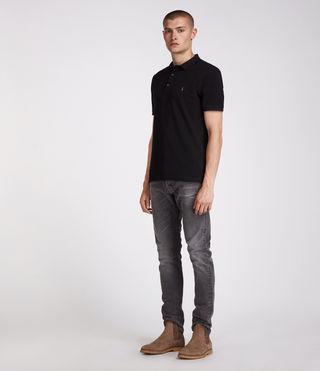 Men's Reform Polo Shirt (Jet Black) - product_image_alt_text_3