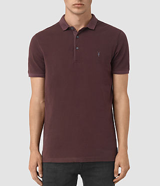 Uomo Reform Polo Shirt (Damson Red) -