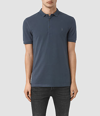 Hombres Reform Polo Shirt (LEAD BLUE)