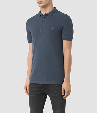 Hombres Polo Reform (LEAD BLUE) - product_image_alt_text_2