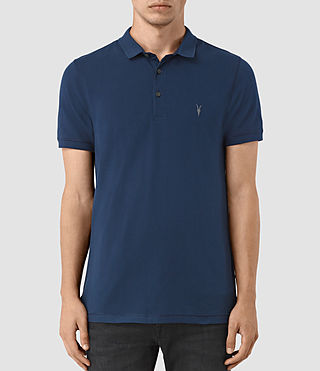 Hombres Reform Polo Shirt (BALTIC BLUE) -