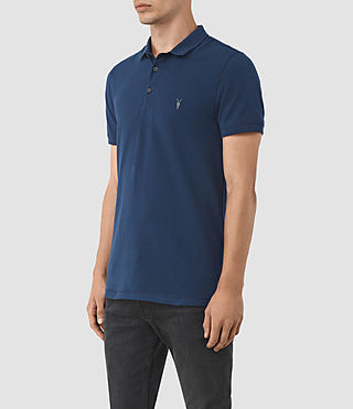 Hombres Reform Polo Shirt (BALTIC BLUE) - product_image_alt_text_2