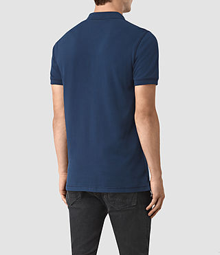 Hombres Reform Polo Shirt (BALTIC BLUE) - product_image_alt_text_3