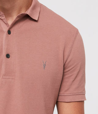 Hombres Reform Polo Shirt (CLAY RED) - product_image_alt_text_2