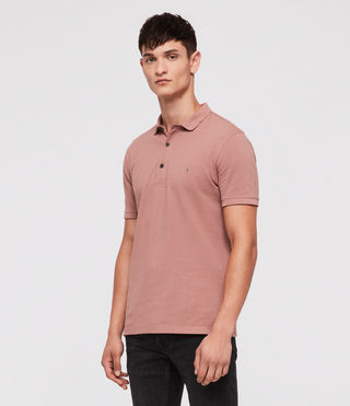 Hombres Reform Polo Shirt (CLAY RED) - product_image_alt_text_3