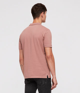 Hombres Reform Polo Shirt (CLAY RED) - product_image_alt_text_4