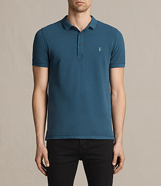 Hombre Reform Polo Shirt (UNIFORM BLUE) - product_image_alt_text_1