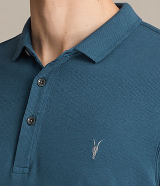 Mens Reform Polo Shirt (UNIFORM BLUE) - product_image_alt_text_2