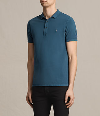 Mens Reform Polo Shirt (UNIFORM BLUE) - product_image_alt_text_3
