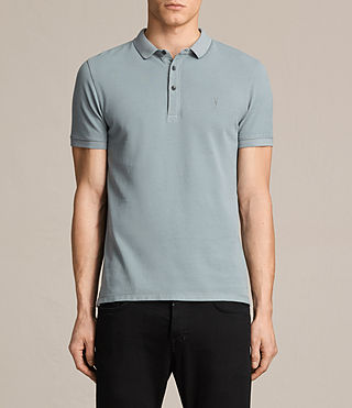 Mens Reform Polo Shirt (VISTA BLUE) - product_image_alt_text_1