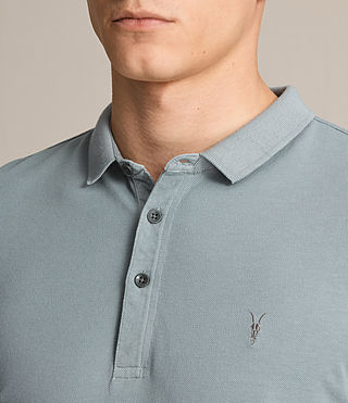 Mens Reform Polo Shirt (VISTA BLUE) - product_image_alt_text_2