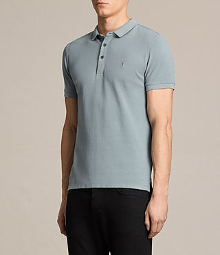 Mens Reform Polo Shirt (VISTA BLUE) - product_image_alt_text_3