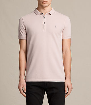 Herren Reform Polo Shirt (ALMOND PINK) -