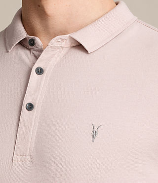 Herren Reform Polo Shirt (ALMOND PINK) - product_image_alt_text_2