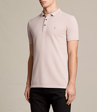 Herren Reform Polo Shirt (ALMOND PINK) - product_image_alt_text_3