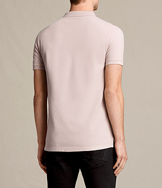 Hombres Reform Polo Shirt (ALMOND PINK) - product_image_alt_text_4