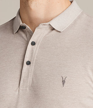 Hombre Reform Polo Shirt (SHALE BROWN MARL) - Image 2