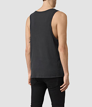 Mens Doubt Tank (Washed Black) - product_image_alt_text_3