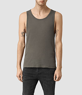 Mens Doubt Tank (Khaki Green)