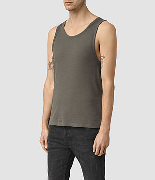 Hombres Doubt Vest (Khaki Green) - product_image_alt_text_2