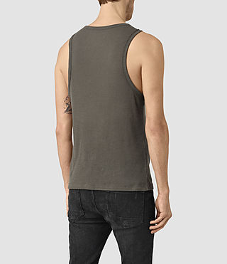 Hombres Doubt Vest (Khaki Green) - product_image_alt_text_3