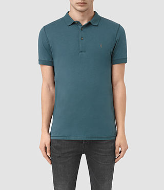 Hombres Alter Polo Shirt (Airforce Blue)